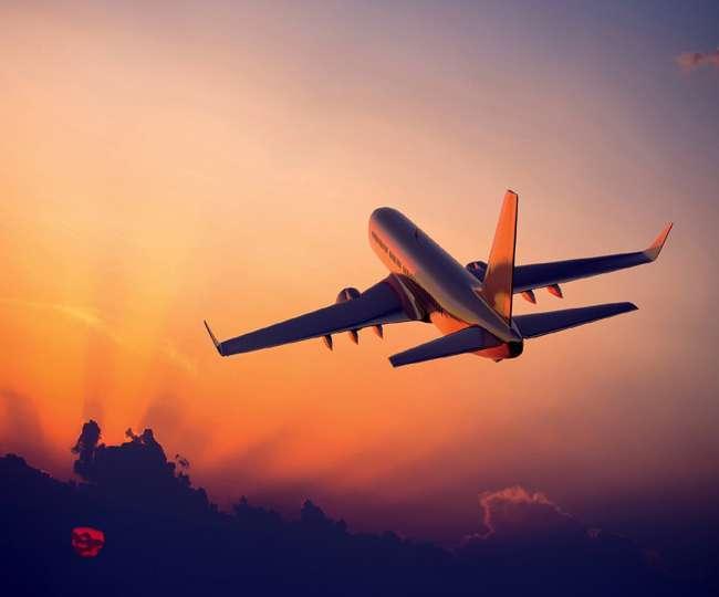 reiste mit Air India nach Übersee